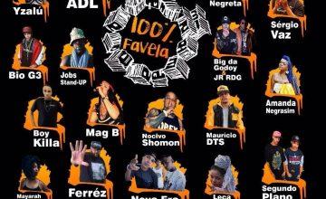 No dia 9 de setembro acontece a 17ª Festa 100% Favela