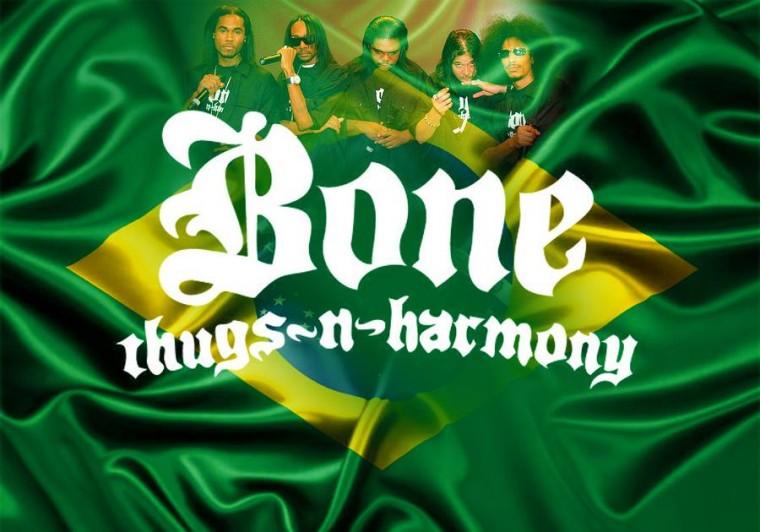 Bone Thugs-n-Harmony fará turnê no Brasil em Setembro