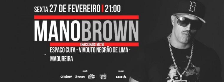Mano Brown, do Racionais MC's, será a atração principal da 2ª edição do Hutúz Rap Festival