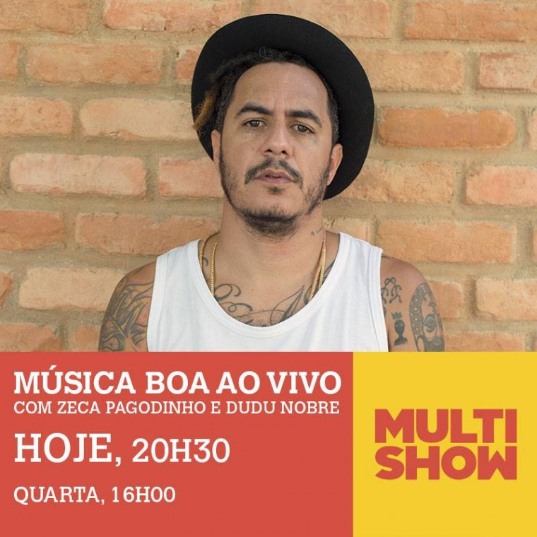 "Marcelo D2 participa do programa ""Música Boa Ao Vivo"", do Multishow"