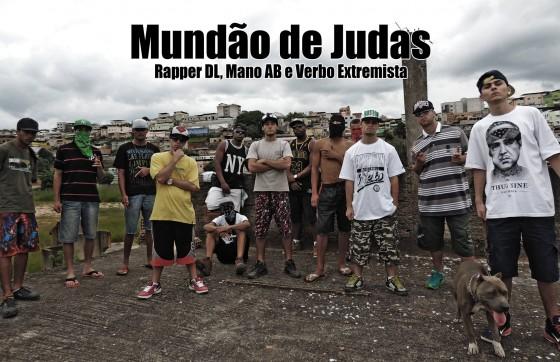 """""""Mundão de Judas"""" – Rapper DL, Mano AB e Verbo Extremista lançam videoclipe Independente"""
