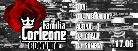 Família Corleone convida DJ Soneca para festa na Cave, em Copacabana
