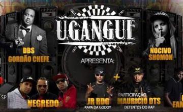 Nomes de peso do RAP reúnem-se para festa da UGANGUE, em São Paulo