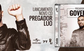 "Pregador Luo divulga capa e fala sobre o novo álbum ""Governe!"""