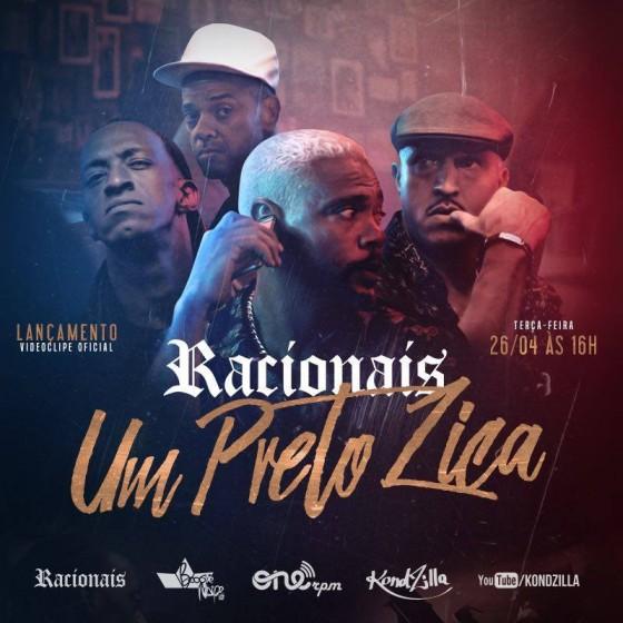 """Racionais divulga teaser e data de lançamento do novo clipe """"Preto Zica"""""""