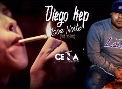 """Com melodia contagiante Diego Kep lança videoclipe """"Boa Noite"""""""