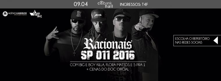 Racionais prepara show especial em São Paulo e abre enquete aos fãs