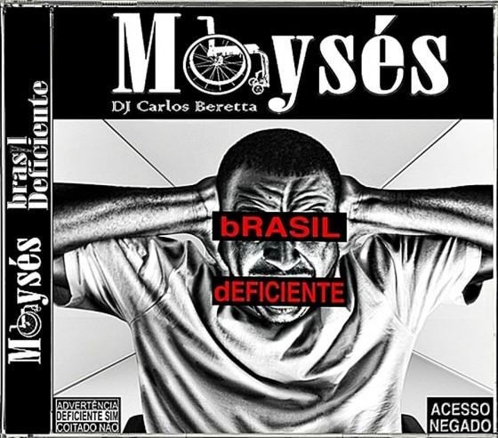 """Moysés prepara festa de lançamento do disco solo """"bRASIL dEFICIENTE"""""""