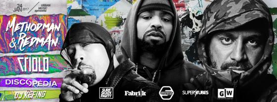 Method Man & Redman do Wu-Tang Clan fazem show em São Paulo