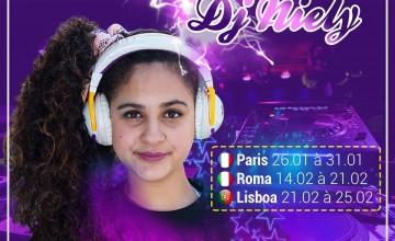 Com apenas 14 anos, DJ Niely anuncia turnê internacional