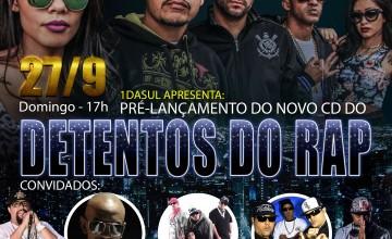 Detentos do RAP prepara grande festa de pré-lançamento do novo álbum