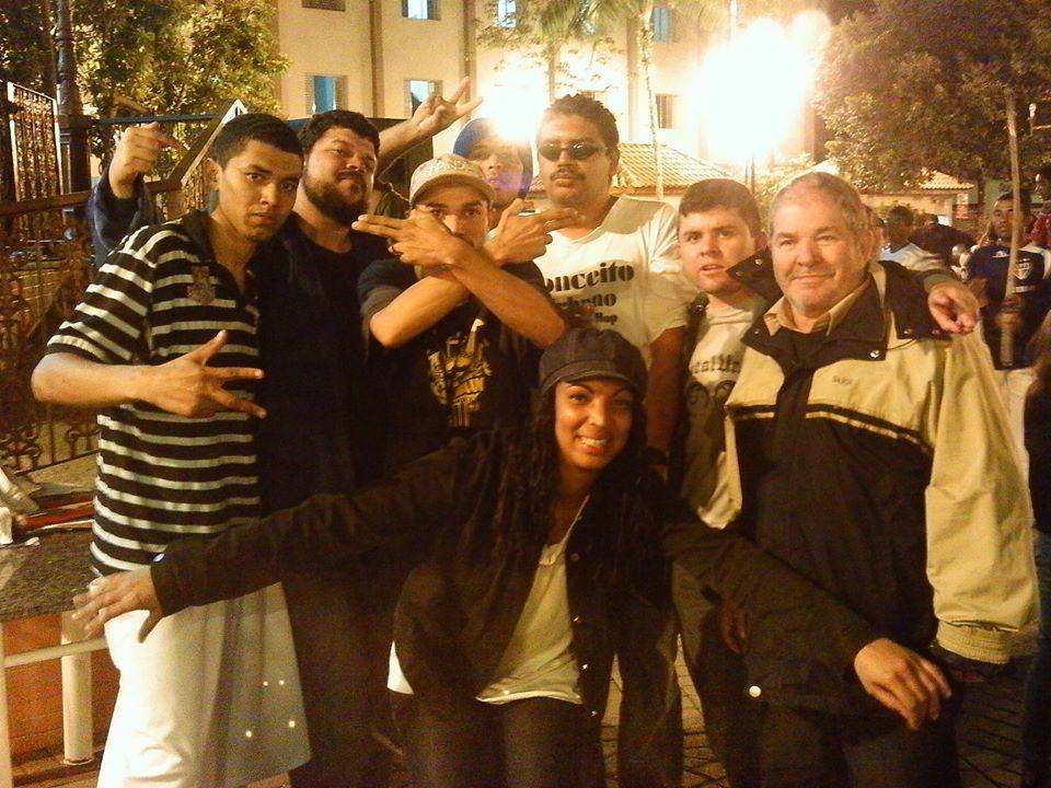 """Conceito Urbano e Cage.be mo evento """"hip hop contra a fome"""", em Santa Isabel - SP"""