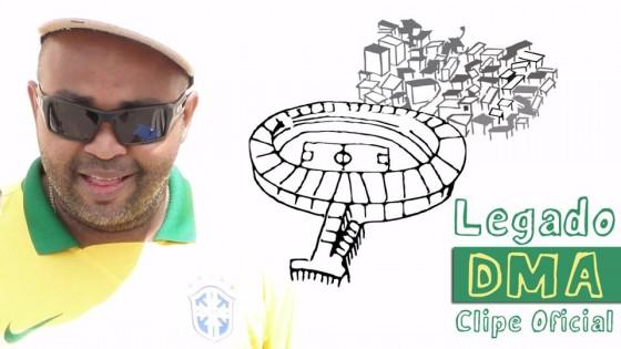 DMA lança clipe de rap sobre a Copa para chamar a atenção do mundo