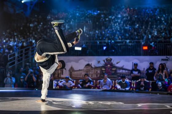 O holandês Menno leva o título mundial da maior batalha de breakdance