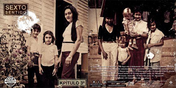 """Grupo """"Sexto Sentido"""" de Tucuruí/PA lança álbum """"Kpítulo 3º"""""""