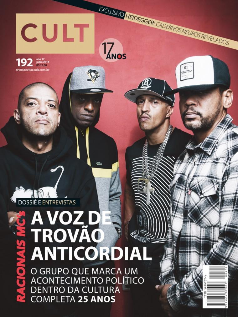 Racionais Mc's é capa da revista Cult de julho
