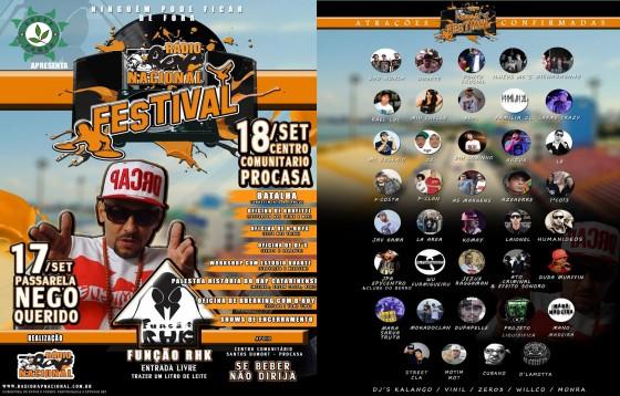 Final de semana tem Festival Rádio Rap Nacional, em Florianópolis