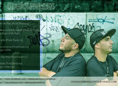 Grupo Cidadãos Brasileiros disponibiliza novo álbum