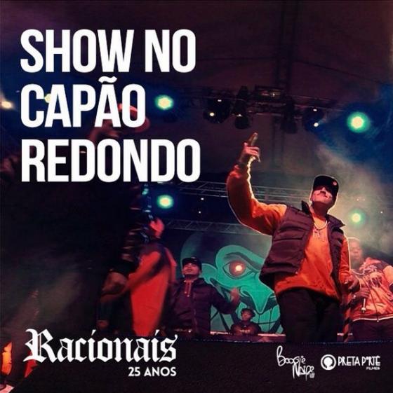 Assista os melhores momentos do show do Racionais Mc's no Capão Redondo