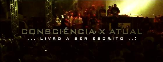 "Consciência X Atual divulga teaser de novo single ""Livro a ser escrito"""