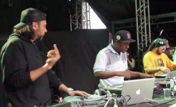 Banca de DJ's mostra a verdadeira arte dos toca-discos em vídeo inédito