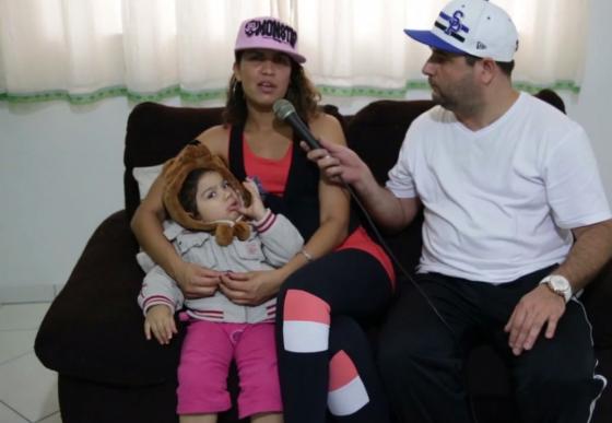 """Assista uma entrevista com a rapper Lauren ao """"Filma Nóis Aí"""""""