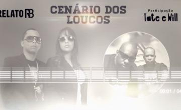 """Relato RB lança novo single """"Cenário dos Loucos"""""""