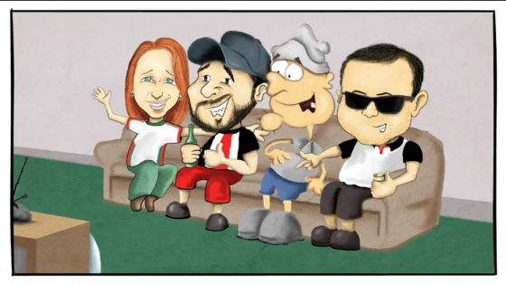 MC InútiL lança clipe em desenho animado com participação de Roger do Ultraje a Rigor