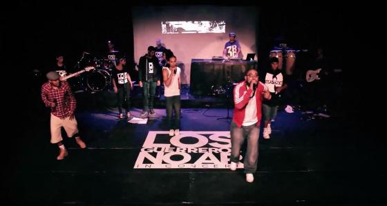 "Grupo de RAP lança web vídeo do show ""Los Guerreros no Ar In Concert"""