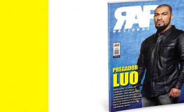 Pregador Luo é capa da Revista Rap Nacional n°13