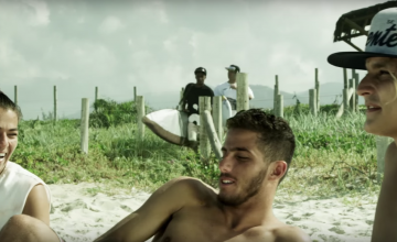 """Oriente coloca o surf como base do novo videoclipe """"Ondas Grandes"""""""