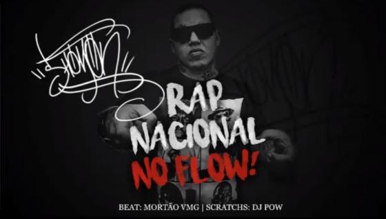 """Shomon lança nova música """"Rap Nacional no Flow"""""""