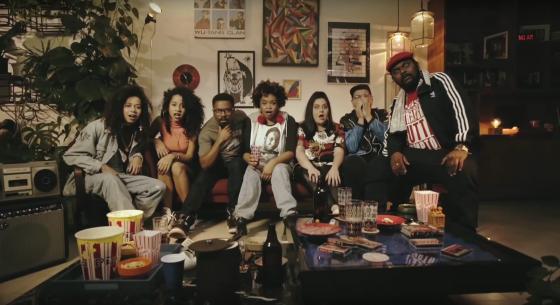 Ogi, James Ventura e Tássia Reis fazem comercial de 'The Get Down', do Netflix