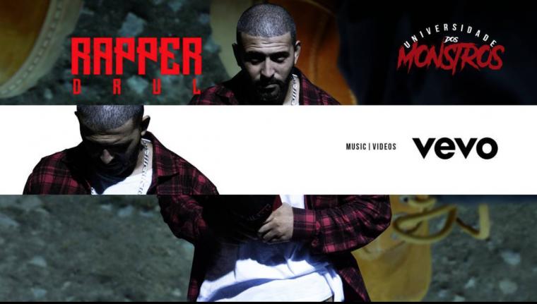 Drul Rapper completa aniversário e estreia canal no Vevo