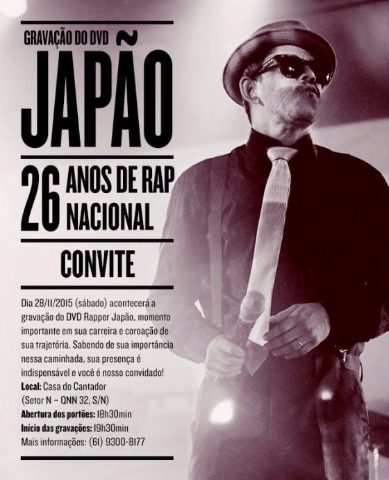 Rapper Japão (Viela 17) grava primeiro DVD em Ceilândia, DF
