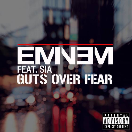 """Eminem lança música """"Guts Over Fear"""" com participação de Sia"""