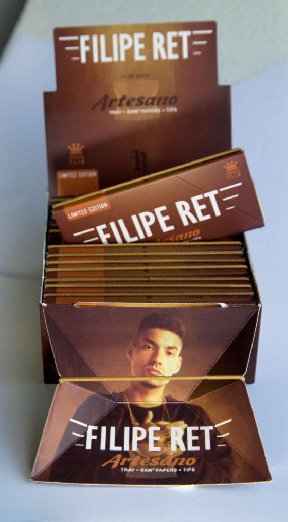 Filipe Ret lança edição especial da seda Raw