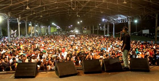 Festival realizado pelo rapper Gregory recebe público de 14 mil pessoas em Campinas