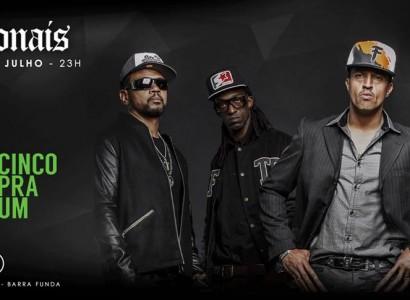 RacionaisMC's faz show no Club 33 em São Paulo