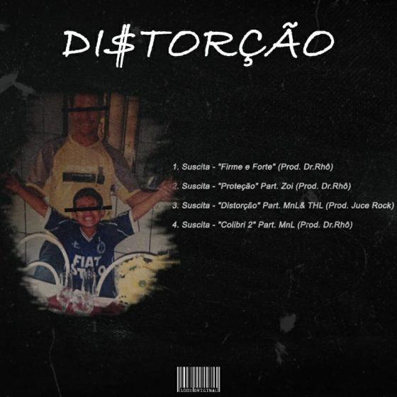 """Thiago Suscita lança mixtape """"Di$torção"""". Escute aqui!"""