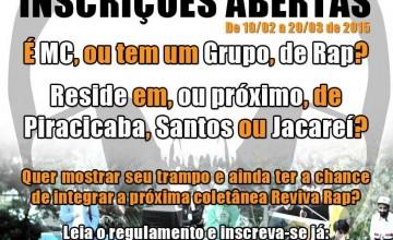 Festival Reviva Rap abre inscrições para grupos do Interior de São Paulo. Participe!