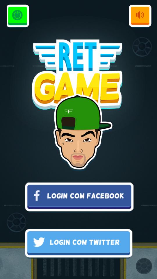 Filipe RET lança game para smartphone