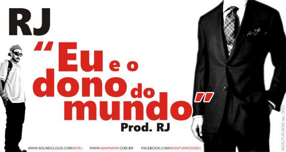 """Rapper amapaense RJ lança música """"Eu e o Dono do Mundo"""""""