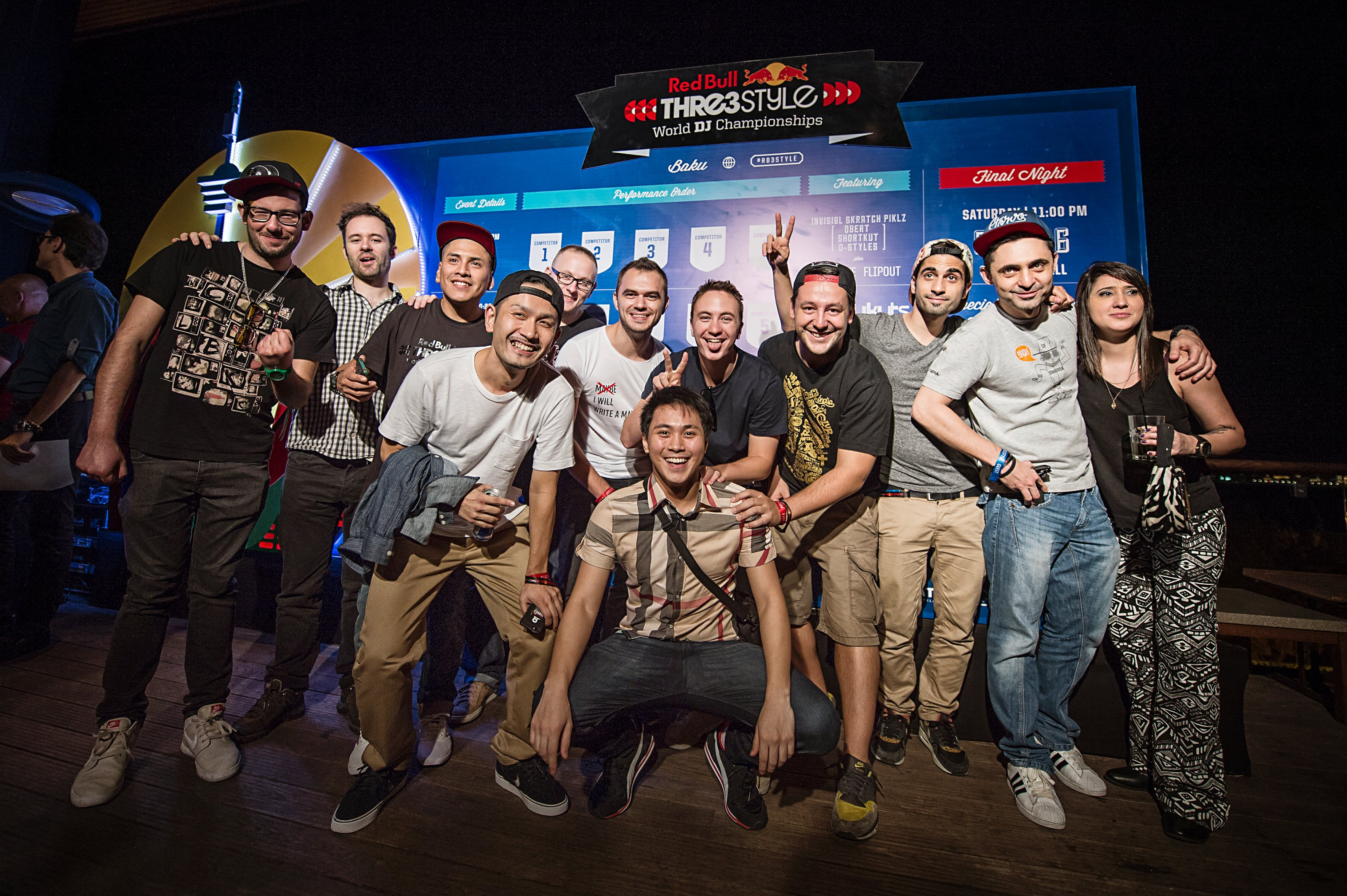 Red Bull Thre3style World Final 2014 Azerbaijan Participants - Portrait - Nika KramerRed Bull Content Pool