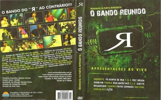"""Reviravolta Máfia disponibiliza DVD """"Ao Vivo"""" com Filosofia de Rua, Facção Anti-sistema, Inquérito e outros grupos"""