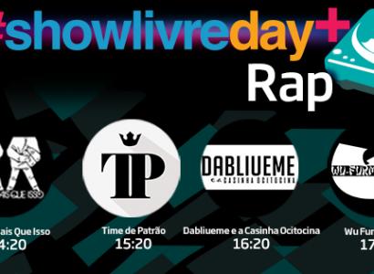 showlivre.com transmite etapa rap do #ShowlivreDay Plus