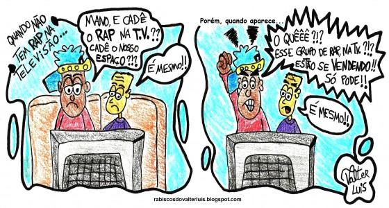 Rabiscando: O RAP na T.V. por Valter Luis – Limonada