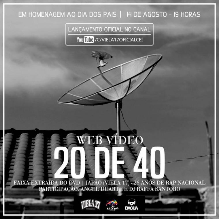 Viela 17 lança faixa exclusiva do DVD em homenagem ao Dia dos Pais