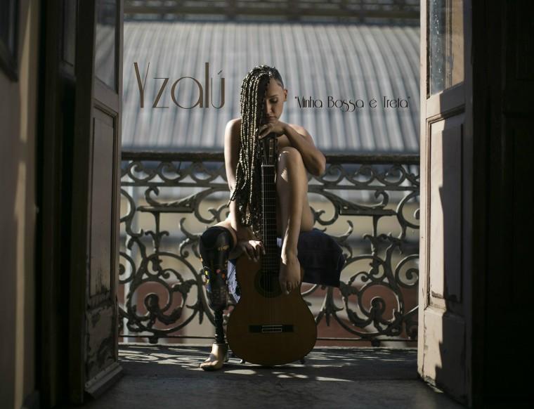"""Yzalú divulga capa polemica de seu primeiro disco """"Minha Bossa é Treta"""""""