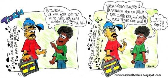 """Walter Limonada lança """"Rabiscando"""". Quadrinhos e tirinhas do Hip-Hop"""